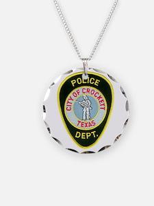 Crockett Police Necklace