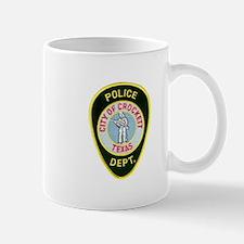 Crockett Police Mug
