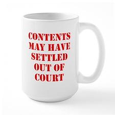 Settled Out of Court Mug