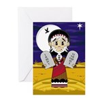 Moses with 10 Commandments Cards (Pk of 10)