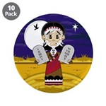 "Moses with 10 Commandments 3.5"" Button (10 Pk"