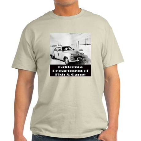 California Game Warden Light T-Shirt