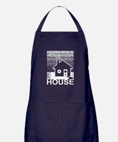 Get in the House Music Apron (dark)
