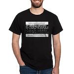 5th Solvay Conference Black T-Shirt
