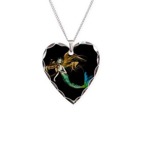 Best Seller Merrow Mermaid Necklace Heart Charm