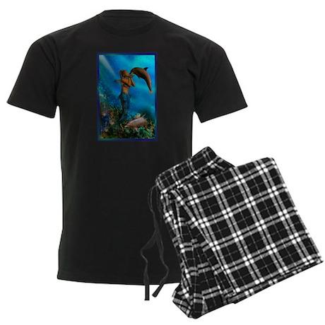 Best Seller Merrow Mermaid Men's Dark Pajamas