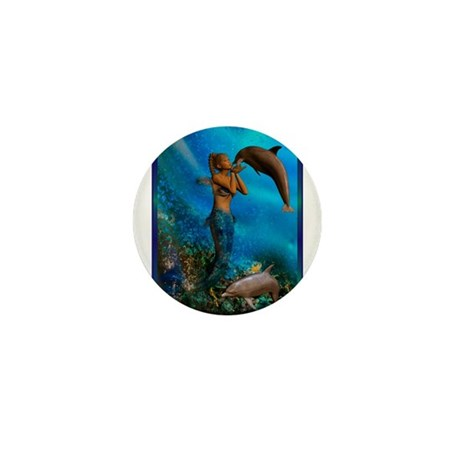 Best Seller Merrow Mermaid Mini Button (100 pack)