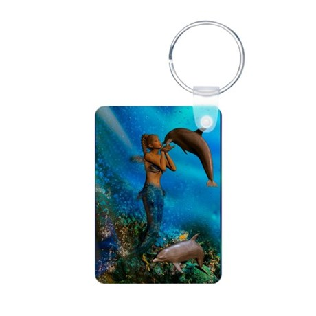 Best Seller Merrow Mermaid Aluminum Photo Keychain