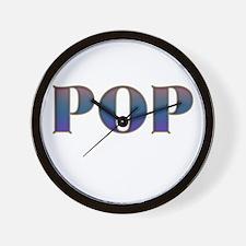 POPS Wall Clock