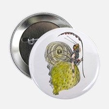 """Vintage Butterfly Fairy 2.25"""" Button (10 pack)"""