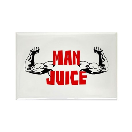 Strong Man Juice Rectangle Magnet