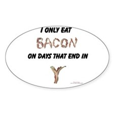 Bacon Days Decal