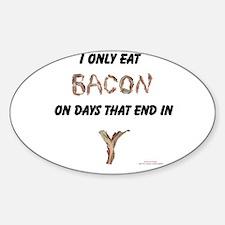 Bacon Days Sticker (Oval)
