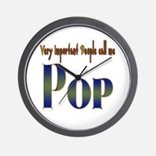 VERY IMPORTANT PEO CALL ME PO Wall Clock