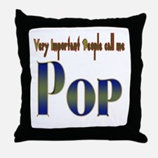 VERY IMPORTANT PEO CALL ME PO Throw Pillow
