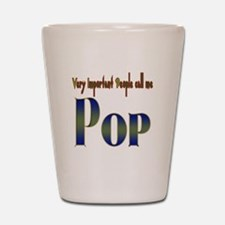 VERY IMPORTANT PEO CALL ME PO Shot Glass