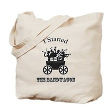 I started the Bandwagon Tote Bag
