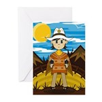 Cute Little Cowboy Greeting Cards (Pk of 20)