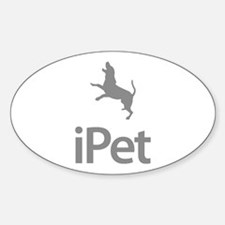 Treeing Walker Coonhound Oval Decal