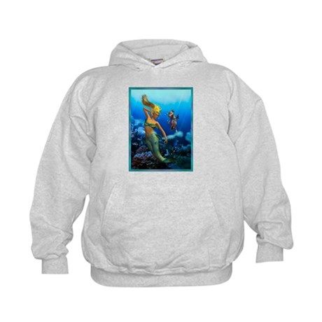Best Seller Merrow Mermaid Kids Hoodie