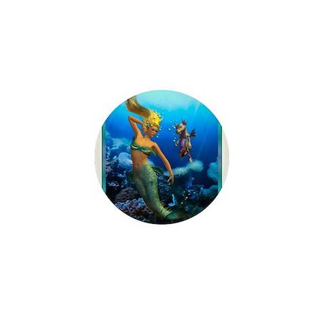 Best Seller Merrow Mermaid Mini Button (10 pack)