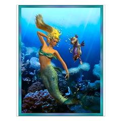 Best Seller Merrow Mermaid Posters