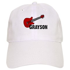 Grayson Guitar Personalized Baseball Cap