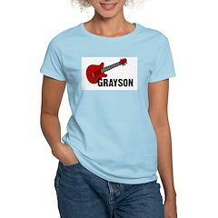 Grayson Guitar Personalized T-Shirt