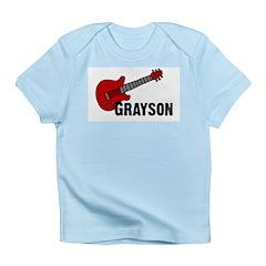 Grayson Guitar Personalized Infant T-Shirt