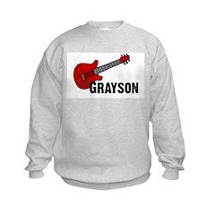 Grayson Guitar Personalized Sweatshirt