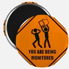 "Monitored 2.25"" Magnet (100 pack)"