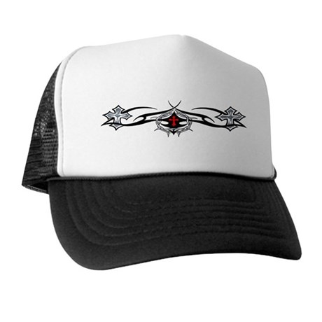 Crosses with Tribal Trucker Hat