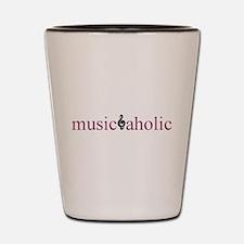 Musicaholic Shot Glass