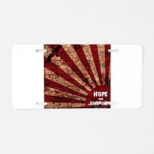 Hope for Japan Aluminum License Plate