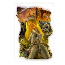 """Under Siege"" artwork Postcards (Package of 8)"