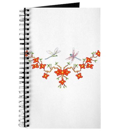 Cherry Blossom Dragonflies Journal