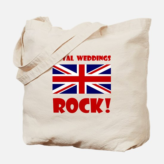 Royal Weddings Rock! Tote Bag