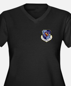 410th Bomb Wing Women's Plus Size V-Neck (Dark)