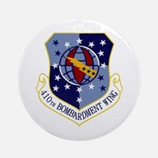 410th Bomb Wing Ornament (Round)