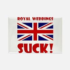 Royal Weddings Suck! Rectangle Magnet