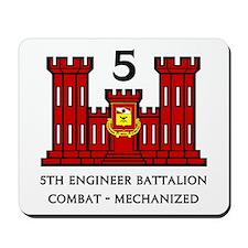 5th Engineer Battalion Mousepad