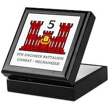 5th Engineer Battalion Keepsake Box