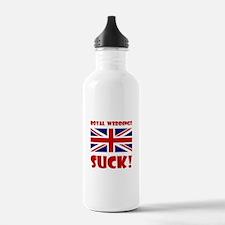 Royal Weddings Suck! Water Bottle
