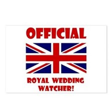 Royal Wedding Watcher Postcards (Package of 8)