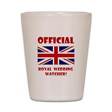 Royal Wedding Watcher Shot Glass