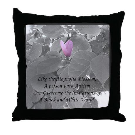The Magnolia Throw Pillow