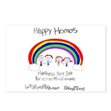Wild Eyed Pixie - Happy Homo Postcards (Package of
