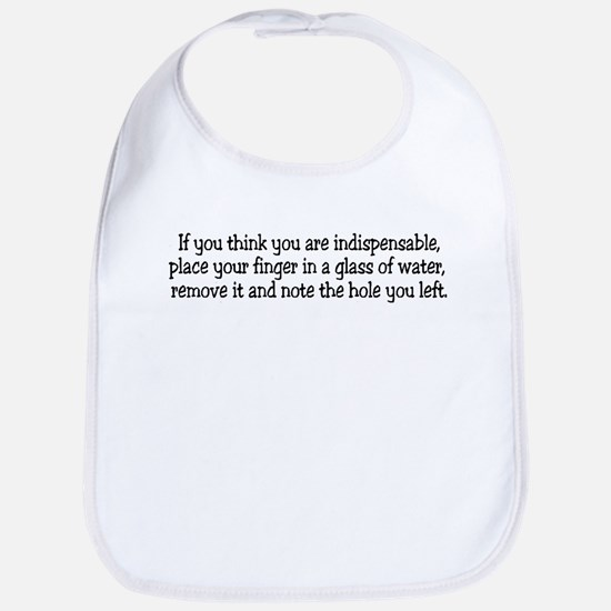 If you think you are indispen Bib