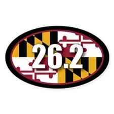 Maryland State Full Marathon 26.2 Decal