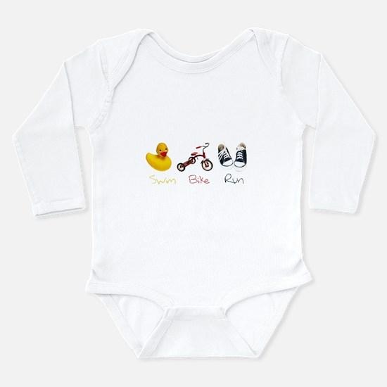 Baby Tri Long Sleeve Infant Bodysuit